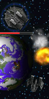 GAME Asteroid Defender TAGS asteroiddefender, defensing, falling, asteroids, earth