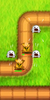 GAME BioBots TAGS bio bot, tower defense, cute, ecologic, td, robots, strategy, leaderboards, highscores