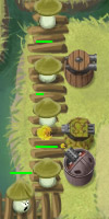 GAME Claytus Hood Tower Defense TAGS tower defense, wave, perfect wave, gun, machinegun, shotgun, tesla, canon, turret