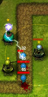 GAME Frontline Defense - First Assault TAGS statagy, defense, military, war, tower, upgrade, build, defend, shoot, weapons